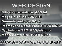 Creare Site / Magazine Online in Bucuresti