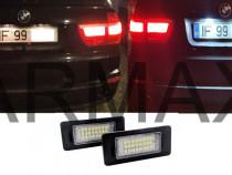Set 2 lampi led numar fara eroare BMW e82 e90 e39 e60 x5 x6