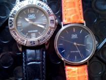 2 ceasuri Q&Q pastrate in conditii foarte bune, functionale