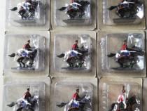 9 cavaleri plumb pictați manual soldatei calareti Napoleon
