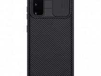 Husa telefon Silicon Samsung Galaxy S20 g980 Black Camera