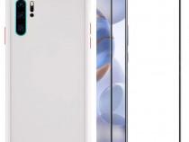 Huawei Nova 5T Husa Hybrid + Folie Sticla 11D