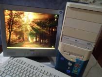 Calculator, unitate PC+Monitor,pentru birou, școală,jocuri
