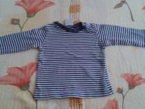 Bluza albastra cu dungi Ding Dong –56