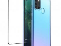 Husa Silicon + Folie Curbata 11D Samsung A10 A20e A30s A21S