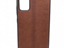 Husa telefon Silicon Samsung Galaxy A51 a515 Brown leather