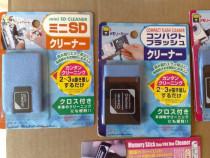 Card cleaner pentru card SD , CF , Memory Stick Duo - nou