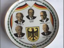 Portelan Kahla, presedintii Germaniei federale