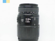 Obiectiv Sigma 70-300mm f/4-5.6 DL Macro montura Canon EF