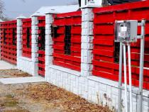Gard Din Beton , Garduri Prefabricate