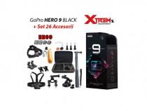Gopro Hero 9 Black + Set 26 Accesorii Compatibile