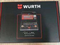 Trusa Wurth mini 29 de piese cu cheie dubla 1/4 crichet
