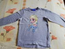 Bluza tip solex gri Elsa 122/128