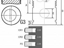 Piston si segmenti tractor Fiat 24/32-84