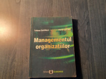 Managementul organizatiilor Tatiana Gavrila
