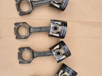 Piston Complet Cu Biela Si Segmenti VAG 1.9 TDI ALH