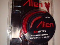 Kit cabluri instalare amplificator audio masina 800W subwoof