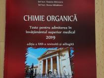 Teste chimie organica admitere medicina Bucuresti 2019