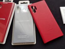 Husa Piele Originala Samsung galaxy Note 10+Plus Noua,Leathe