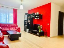 Apartament 3 camere, complet mobilat si utilat Central