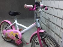 Bicicleta fetițe 4-7 ani BTWin 16''