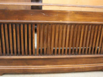 Masca de calorifer vintage lemn masiv 1,69 cm