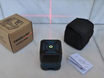 Nivela laser cu linii in cruce, autonivelare
