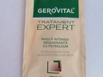 Mască par intensiv regenerantă cu petroleum Gerovital - Noua