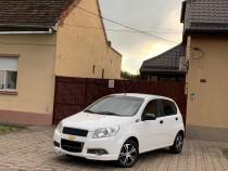 Chevrolet Aveo 1.2 Benzina + GPL 2011 Euro 5 Alb Perla