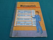 Matematică * manual pentru clasa a ii-a /1988