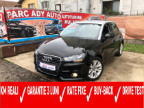 Audi a1 - euro 5 - rate fixe - garantie 3 luni - buy back -