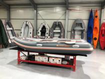 Barca Kolibri KM-400DSL + podina regidă tego, întarită cu pr