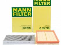 Pachet Revizie Filtru Aer + Polen Mann Filter Volkswagen