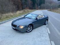 BMW 645i V8 360cp 2005 Cabrio E64
