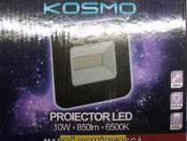Proiector Aluminiu LED 10W SLIM 6500K Exterior/Interior