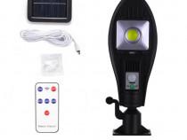 Lampa solara stradala JX-256, Panou solar, Telecomanda C401