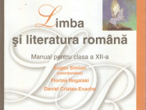 Limba si literatura romana-manual clasa a XII-a
