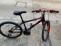 "Bicicletă MTB Rockrider 500 24"" copii 9-12 ani BTWIN"
