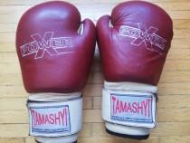 Manusi box muay thai kempo piele naturala Tamasyi