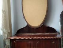 Toaleta cu oglinda lemn masiv