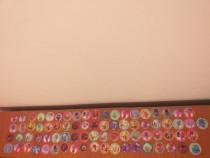 Colectie de 77 magneti Trolli Carrefour,completa