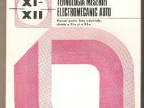 Instalatii si echipamente auto-tehnologia meseriei electrome