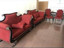 Canapea-fotolii-seturi din lemn masiv
