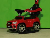 Masinuta cu maner pentru copii Mercedes GL63 AMG 6V 3 în 1