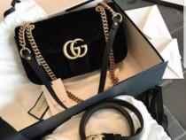 Genti Gucci model Marmont, saculet inclus import Italia