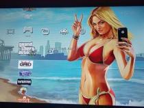 Ps3 superslim modat 500gb 42 jocuri 2 controler,GTAV,Minecr