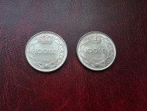 Lot 100 lei 1943&1944
