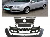 Pachet bara fata+spoiler+grila radiator VW Passat B6+Variant