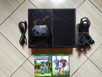 Consola Xbox One, peste 380 de jocuri: Fortnite, Minecraft,