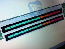 Vu-metru stereo cu 12 leduri - indicator vu meter ( alpine
